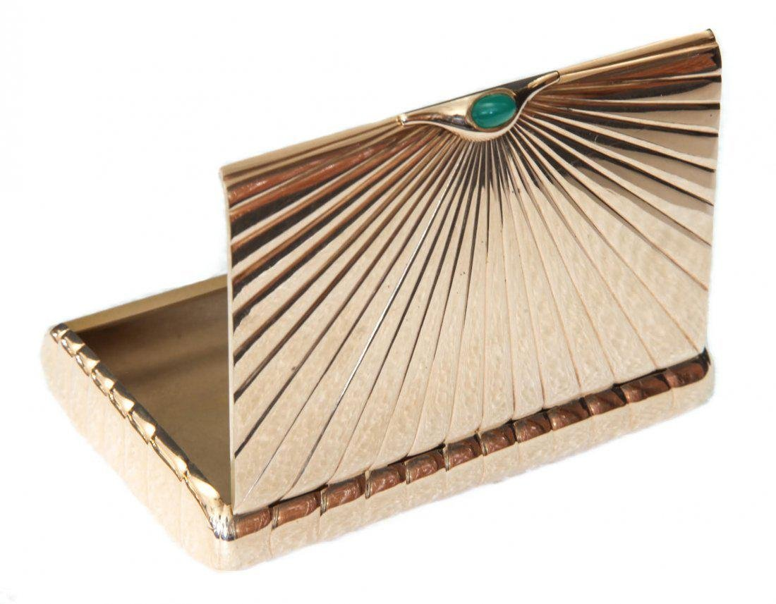 14K Gold Cigarette Box 115 grams