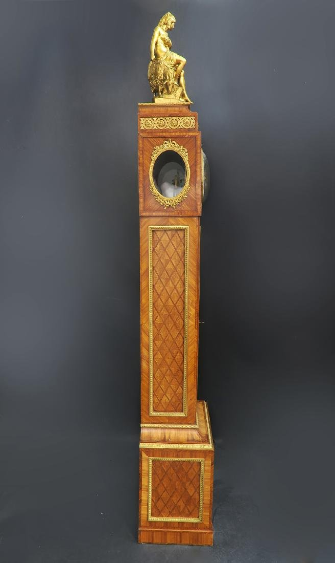 19th C. Ferdinand Berthoud Gilt Bronze Long-Case Clock - 3