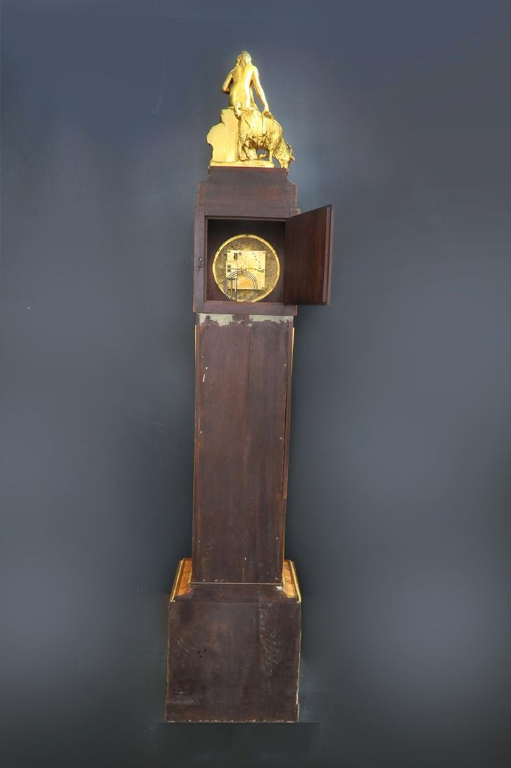 19th C. Ferdinand Berthoud Gilt Bronze Long-Case Clock - 4