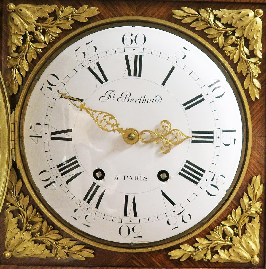 19th C. Ferdinand Berthoud Gilt Bronze Long-Case Clock - 6