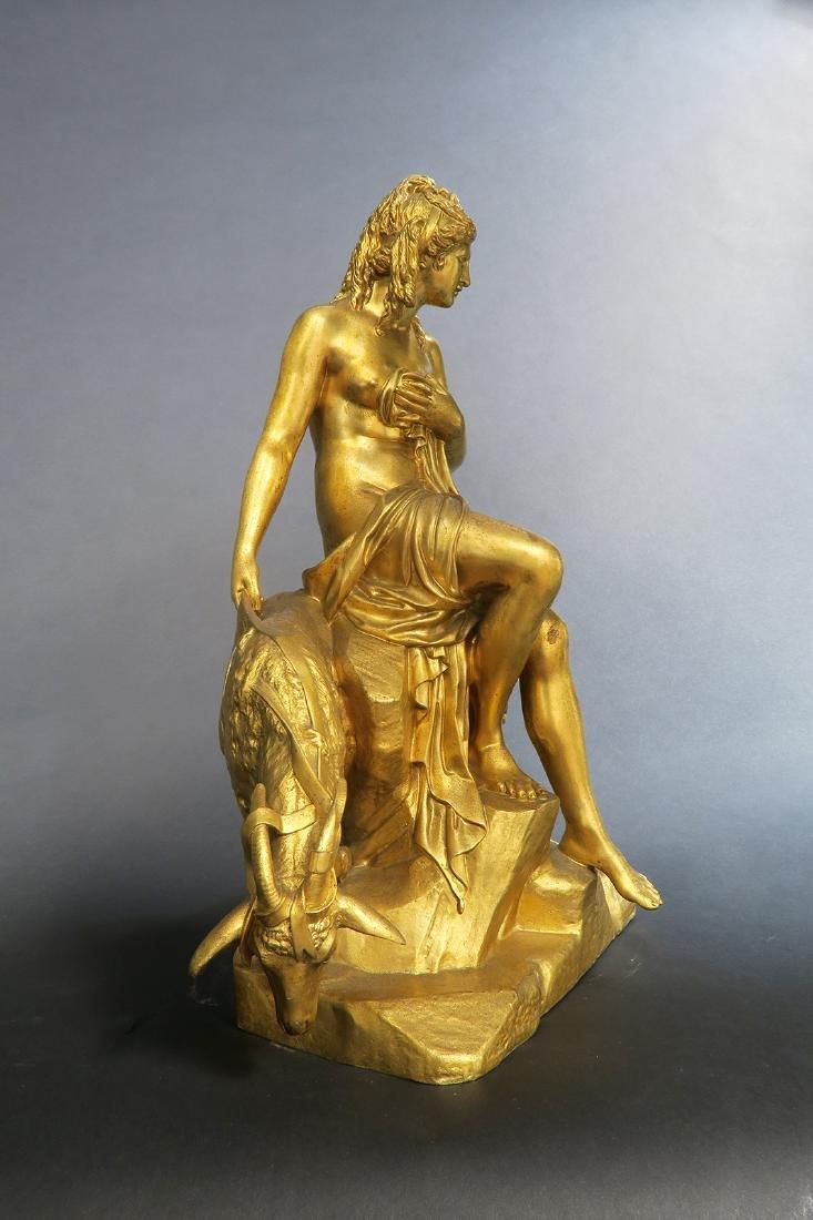 19th C. Ferdinand Berthoud Gilt Bronze Long-Case Clock - 7