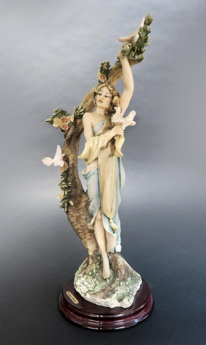 """Giuseppe Armani """"Young Lady With Doves"""" Ltd Edition! - 3"""