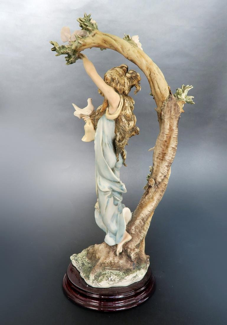 """Giuseppe Armani """"Young Lady With Doves"""" Ltd Edition! - 4"""