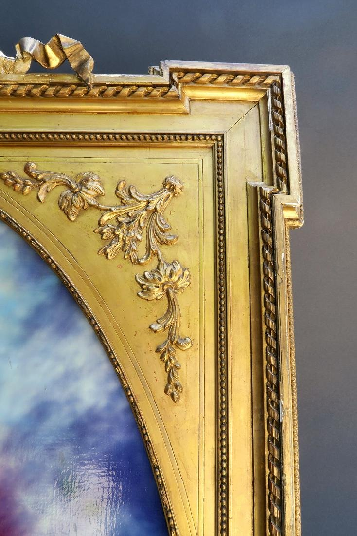 Very Large 19th C. French Gilt Wood Frame - 2