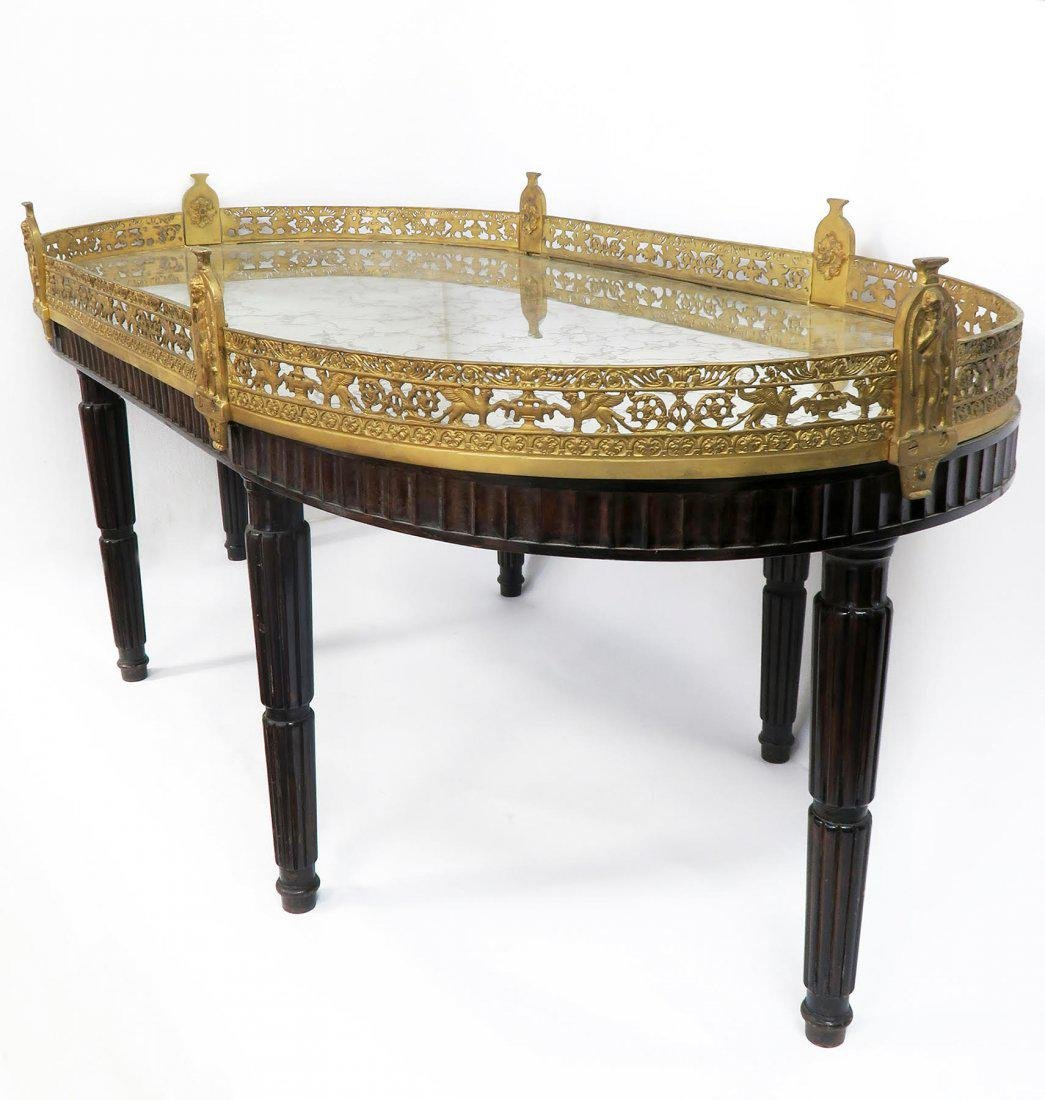 Large French Gilt Bronze Plateau Table - 3