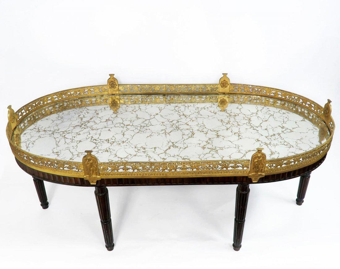Large French Gilt Bronze Plateau Table - 4