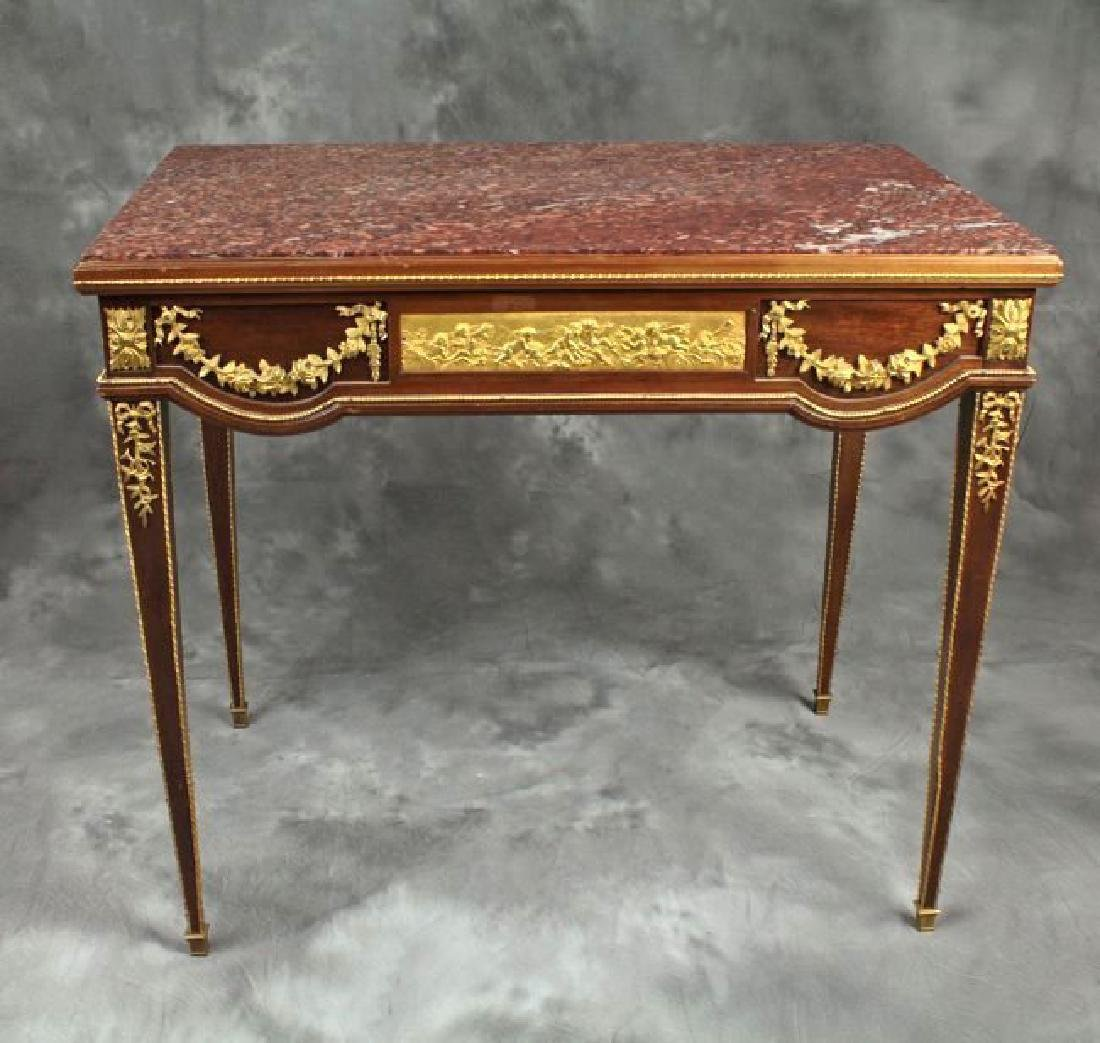 Very Fine Bronze Mounted French Occasional Table/Desk