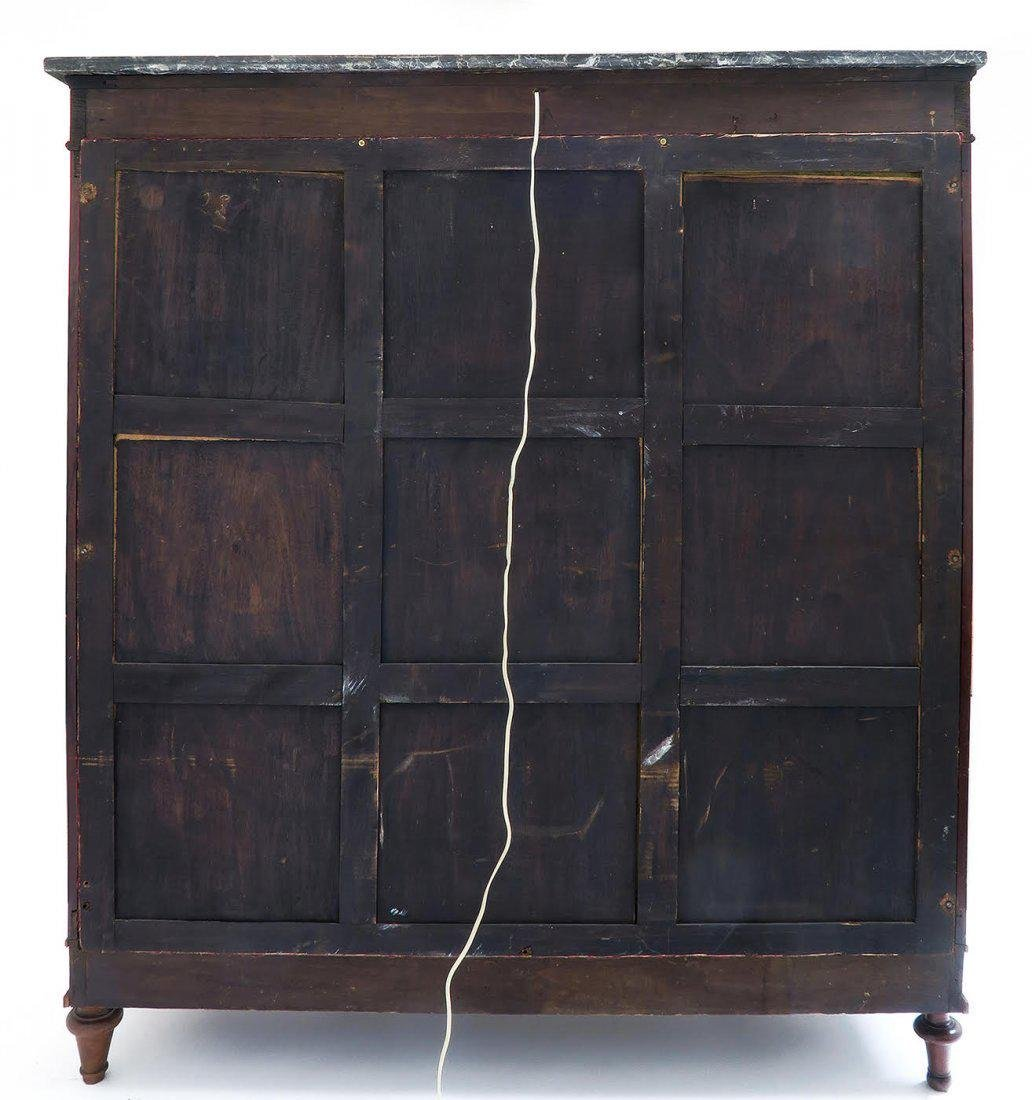 19th C. French Empire Style Vitrine Cabinet - 8