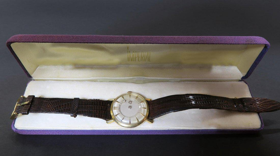Jaeger Le Coultre Mysterious Dial ,18K wrist watch 34 M