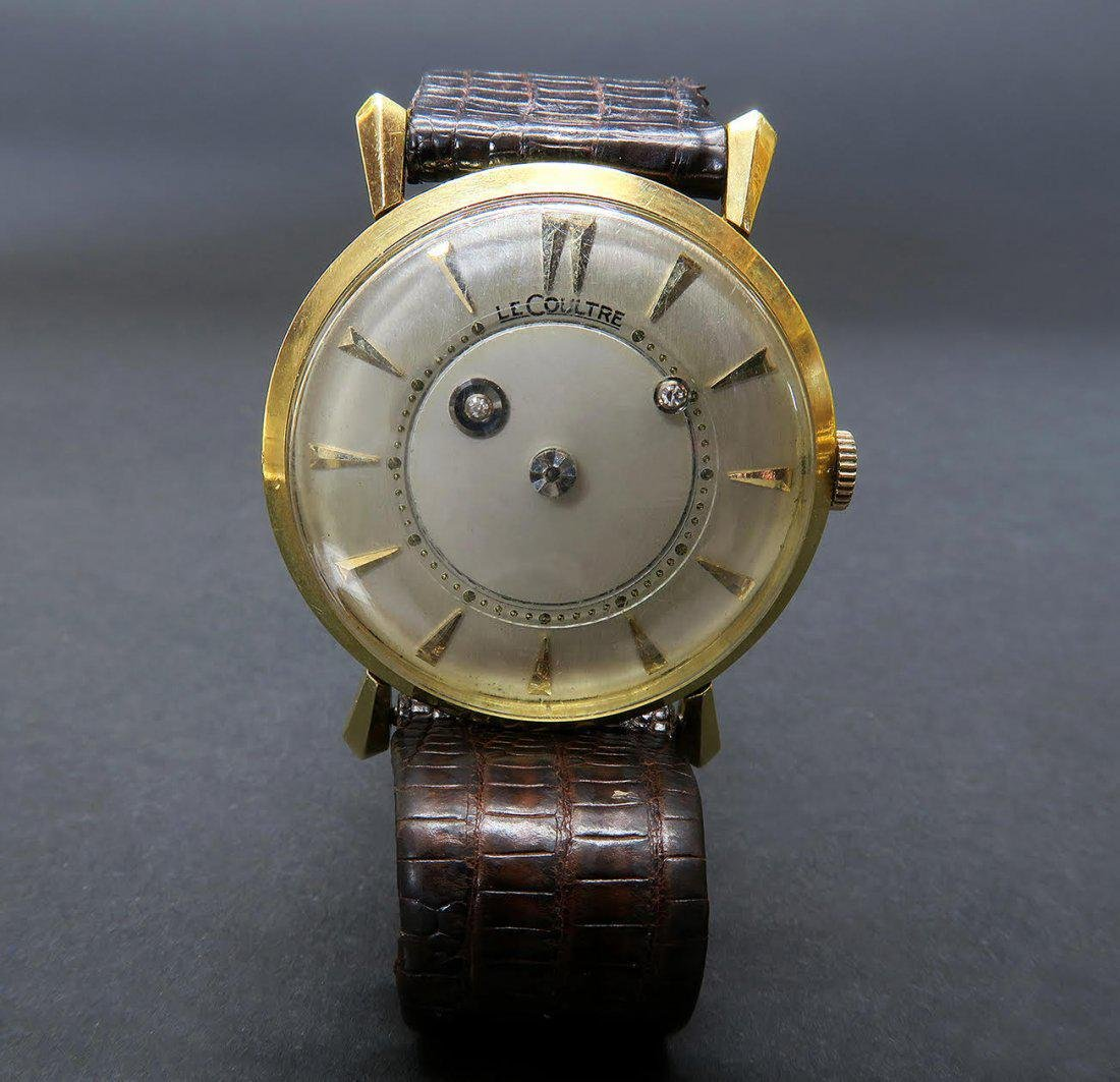 Jaeger Le Coultre Mysterious Dial ,18K wrist watch 34 M - 2