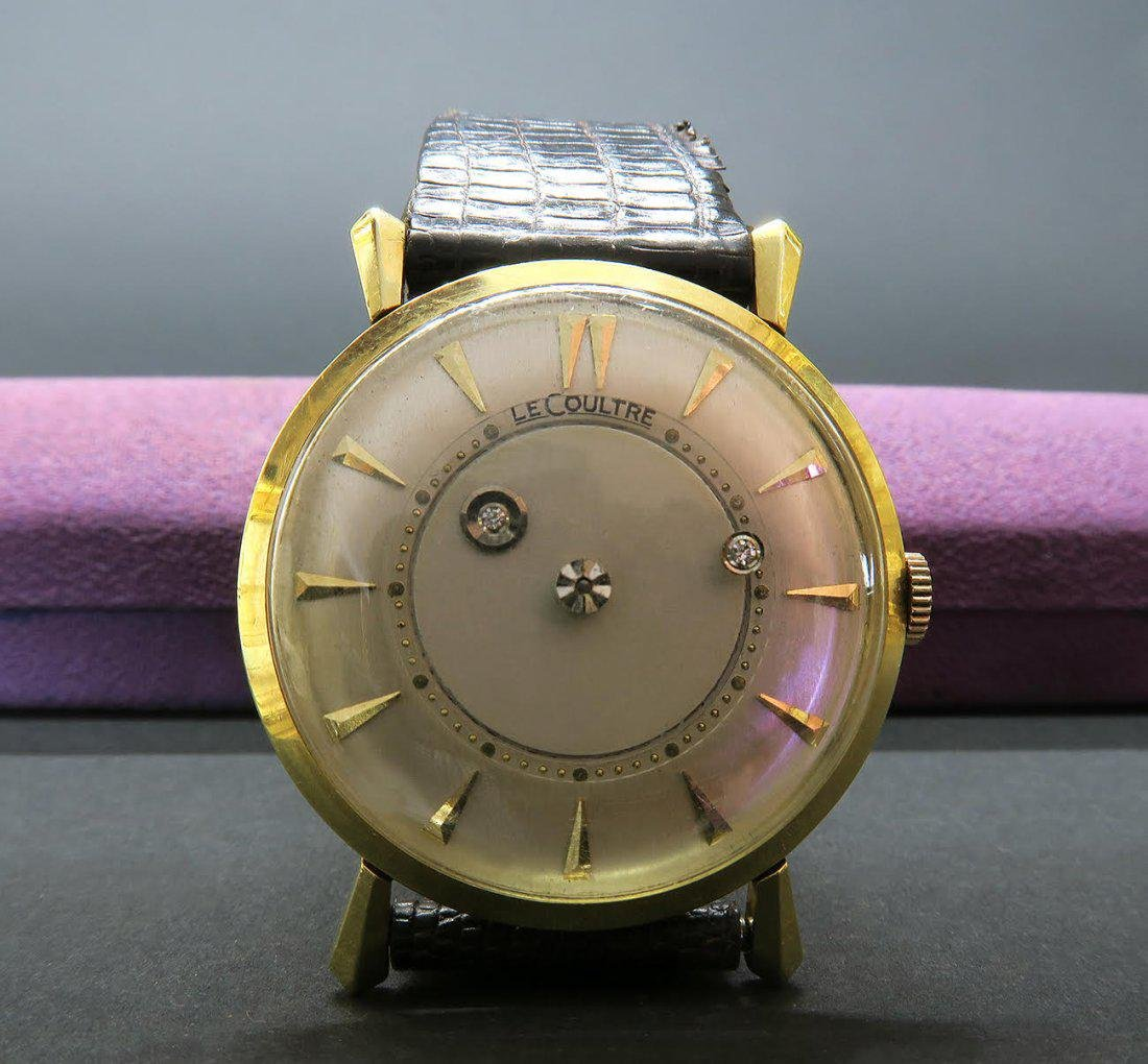 Jaeger Le Coultre Mysterious Dial ,18K wrist watch 34 M - 3