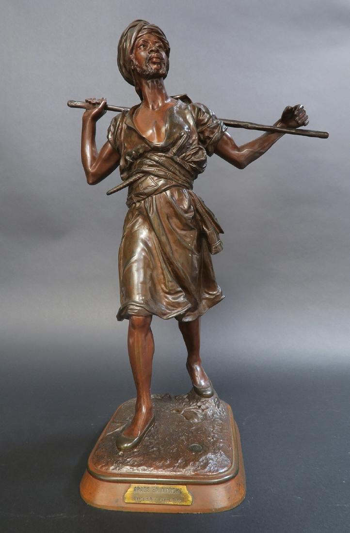 19th C. Orientalist Bronze Figure by Pinedo