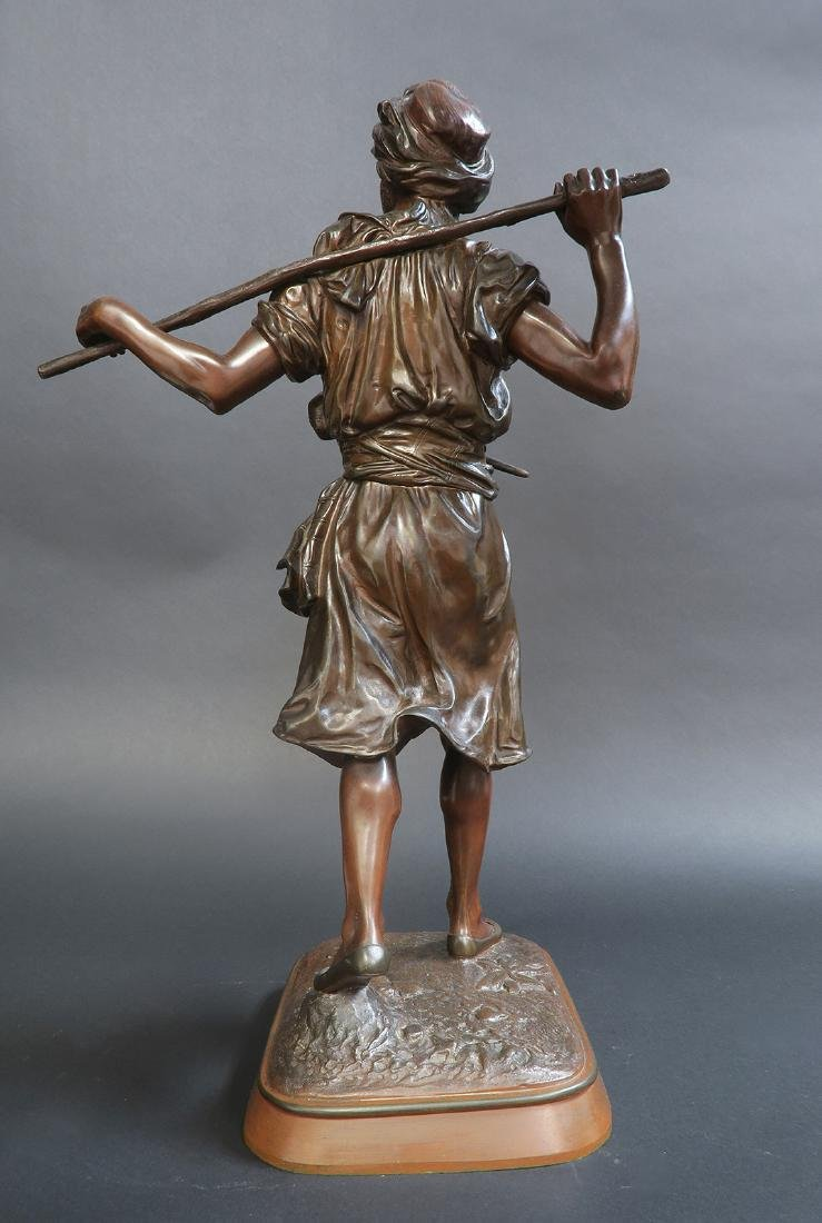 19th C. Orientalist Bronze Figure by Pinedo - 2
