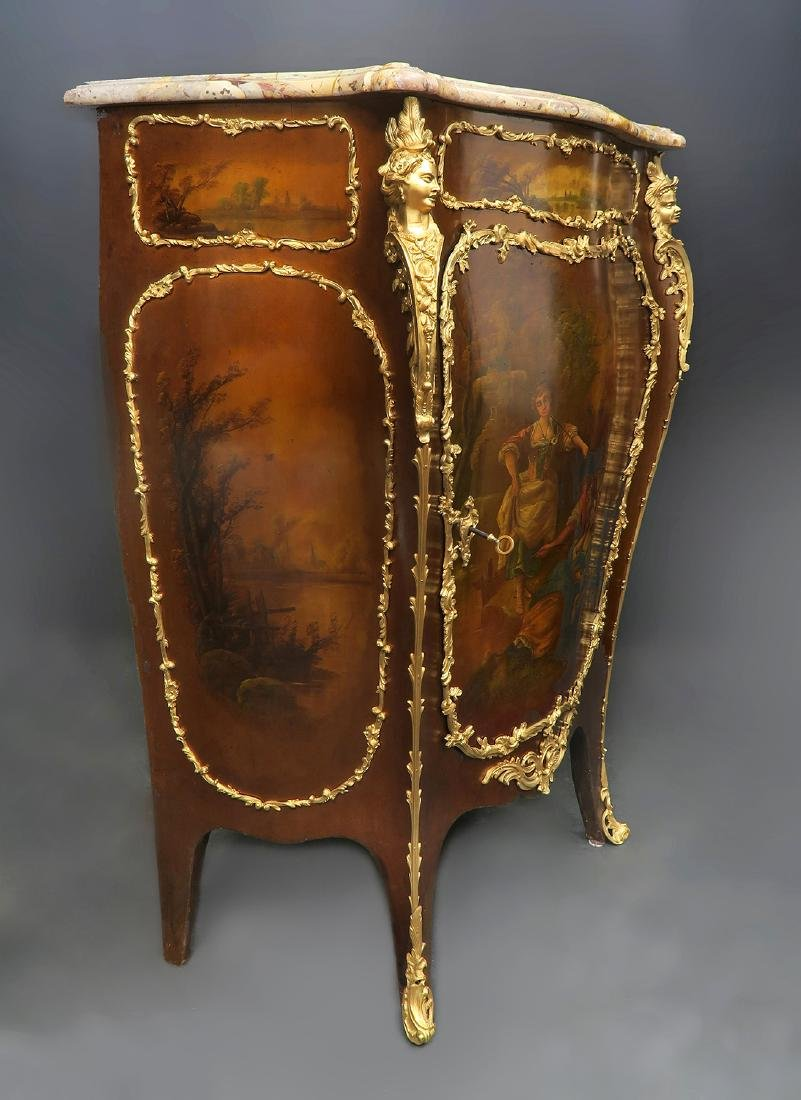 Fine Bronze Mounted Sormani French Cabinet - 2