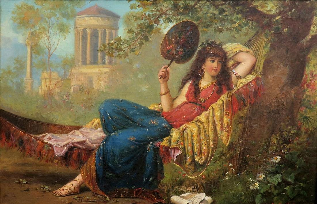 19th C. French Painting (Signed H Mantiny) - 2