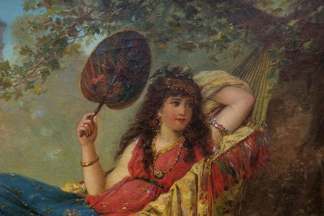 19th C. French Painting (Signed H Mantiny) - 6