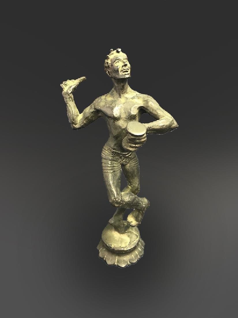 Very Rare Bronze Sculpture of Shiva - 3