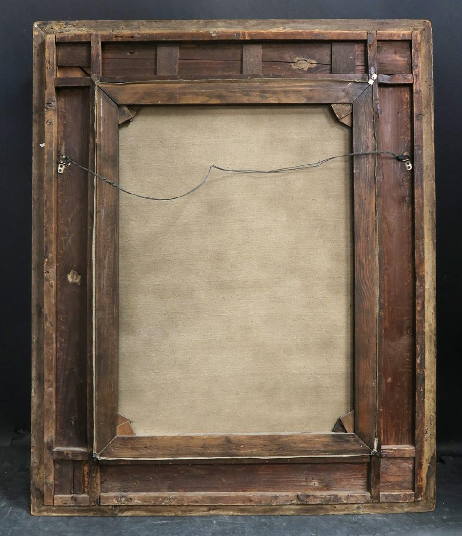 """Large 19th C. Oil on Canvas """"Pyche"""" - 3"""