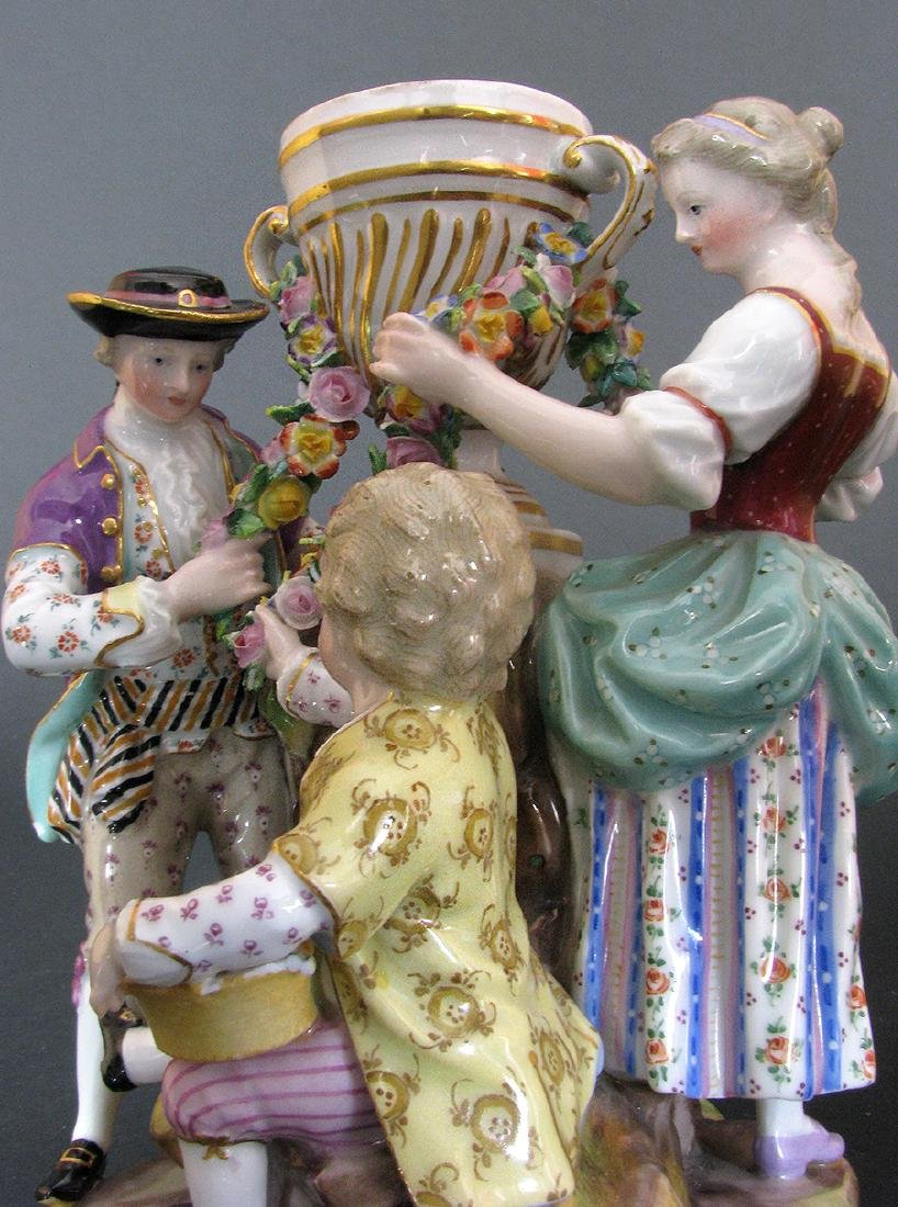 A Fine 19th C. Meissen Figurines Group - 2