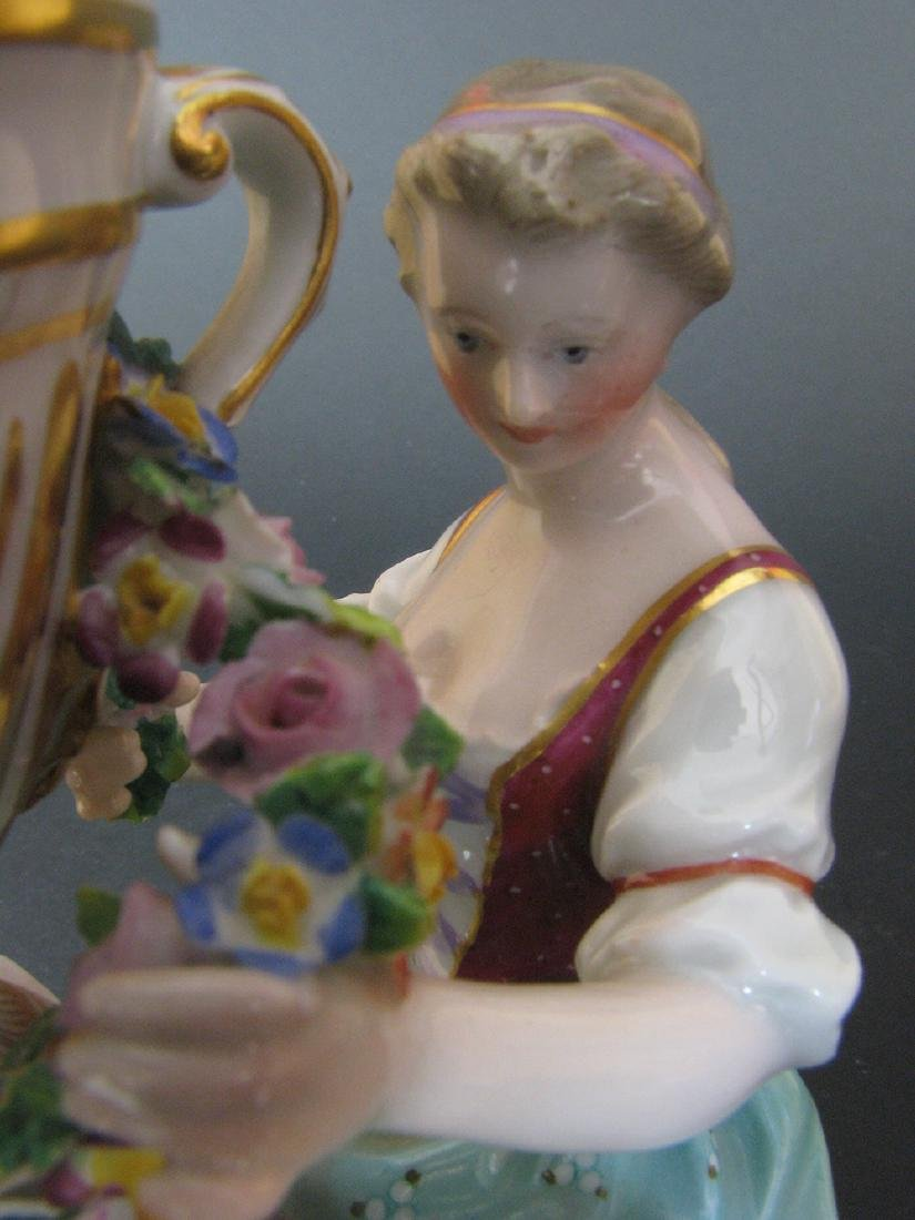A Fine 19th C. Meissen Figurines Group - 4