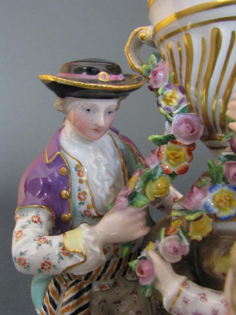 A Fine 19th C. Meissen Figurines Group - 5