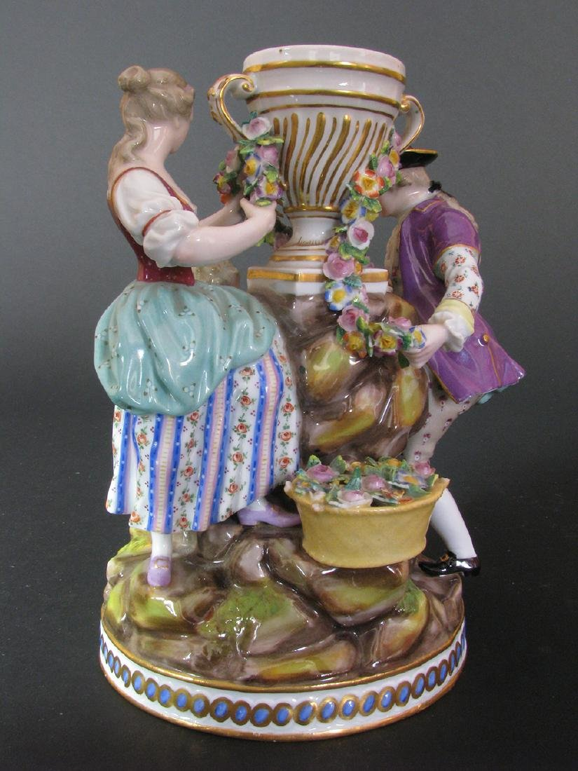 A Fine 19th C. Meissen Figurines Group - 6