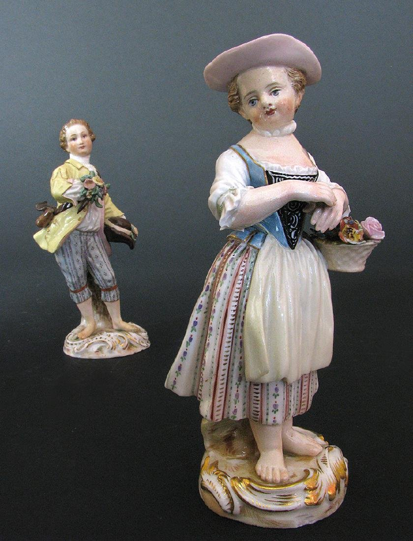 A Pair of Meissen Figurines, 19th Century - 2