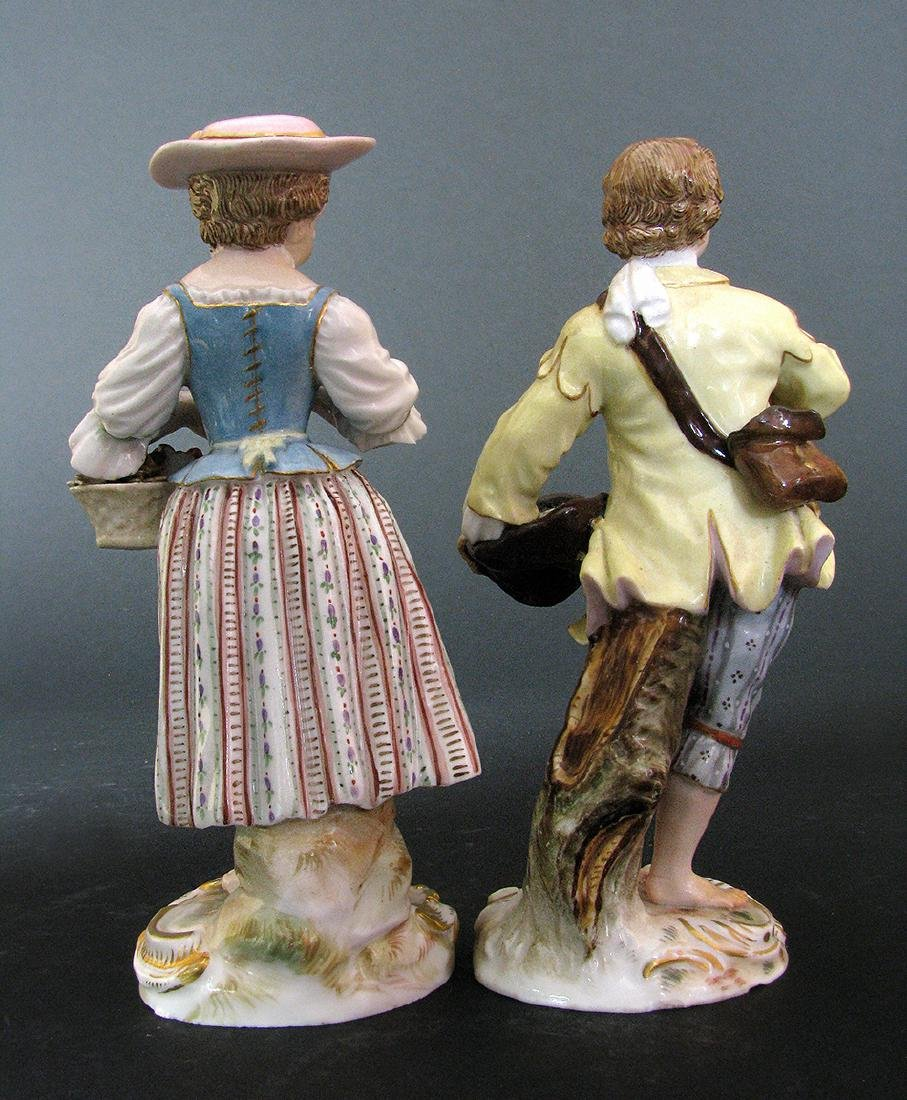 A Pair of Meissen Figurines, 19th Century - 6