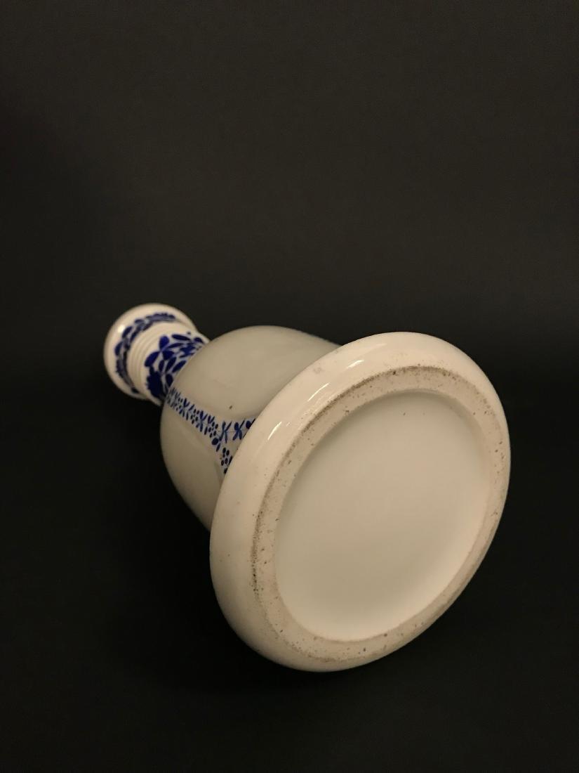 Persian Qajar Bohemian/French Porcelain Hookah - 3