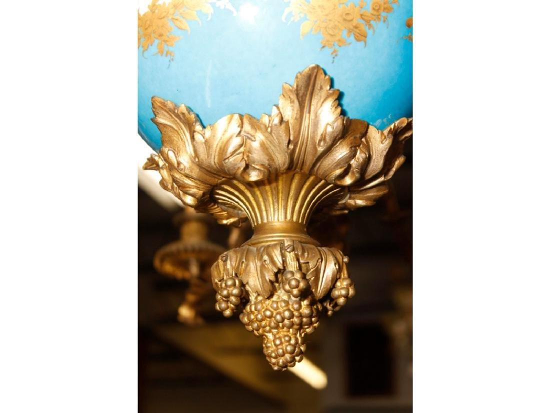 An Exceptional Castle Sevres Louis XV Style Chandelier - 8