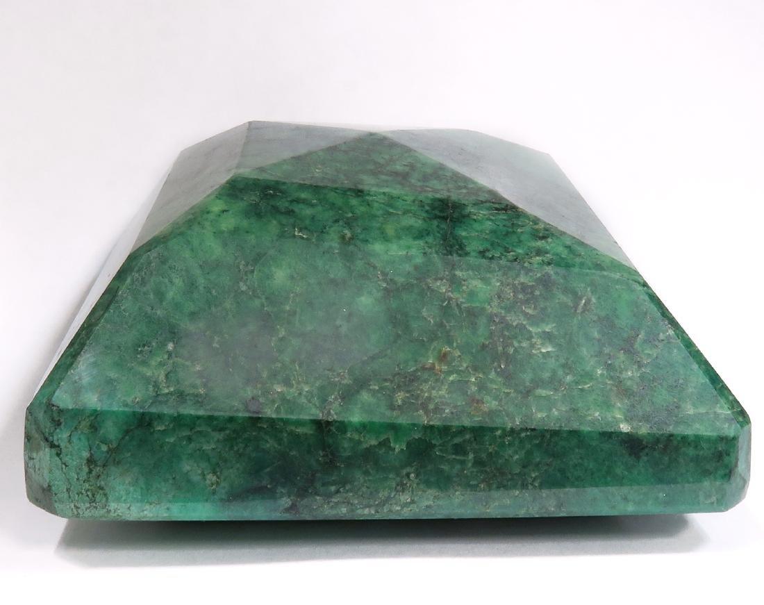 5094 Cts  Rectangular Step Cut Natural Emerald - 2