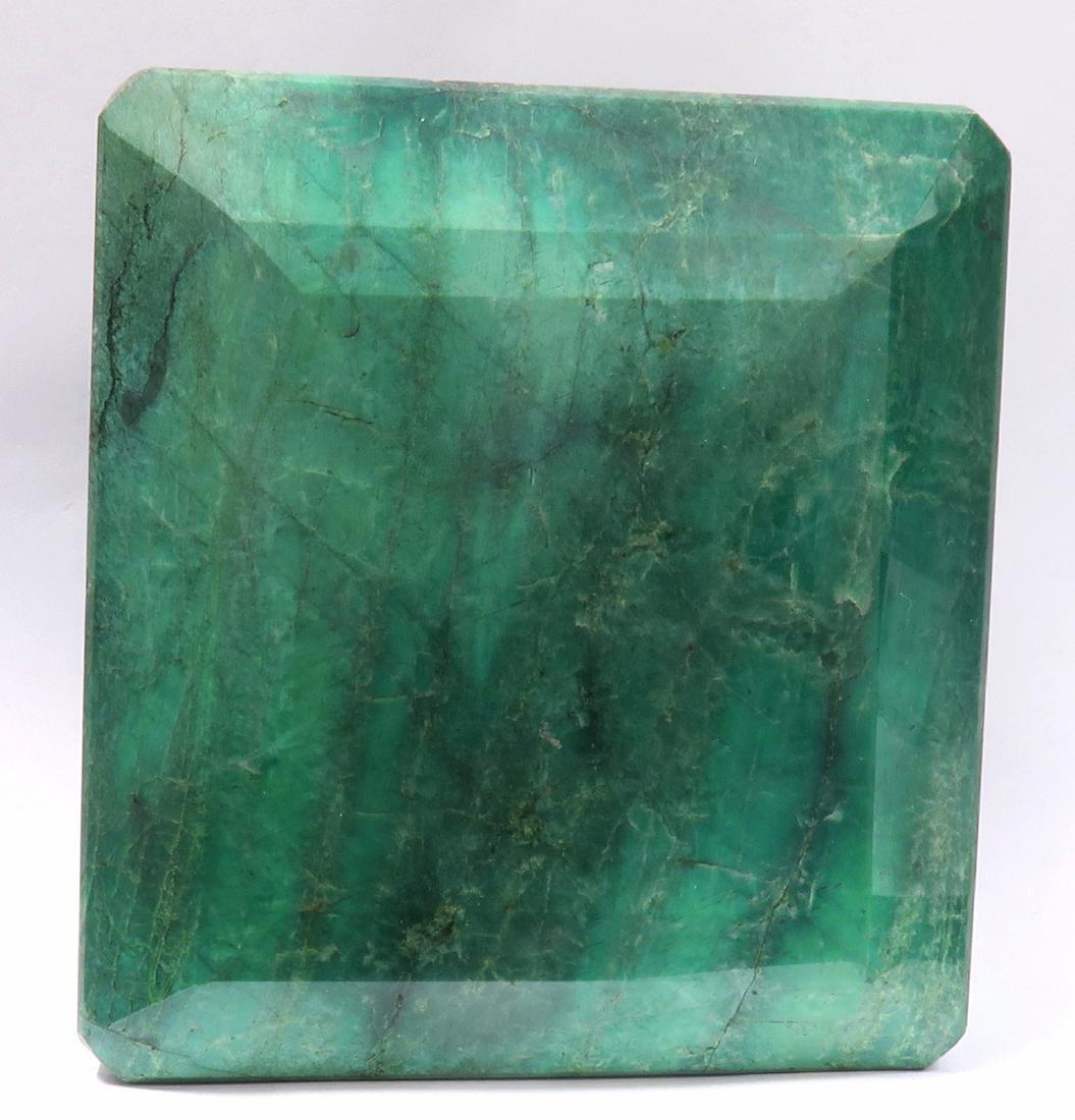 5094 Cts  Rectangular Step Cut Natural Emerald - 3