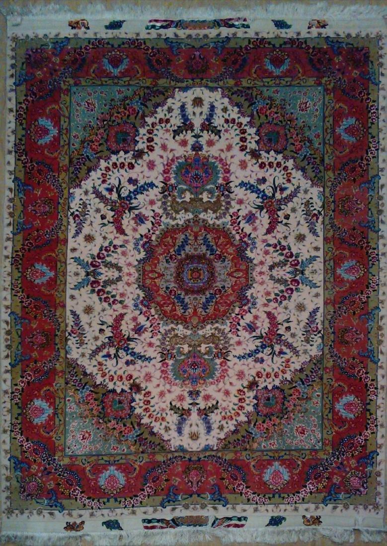 Very Fine Persian Rug from Tabriz