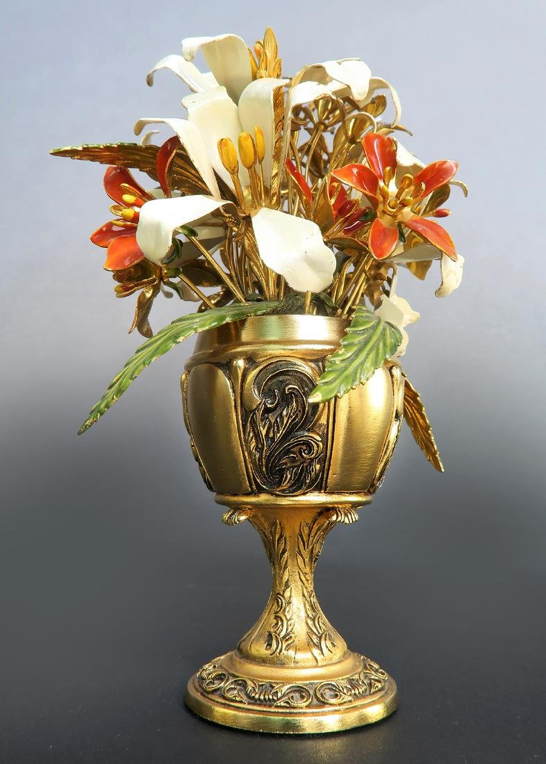 The Imperial Russian Bouquet Carl Faberge - 2