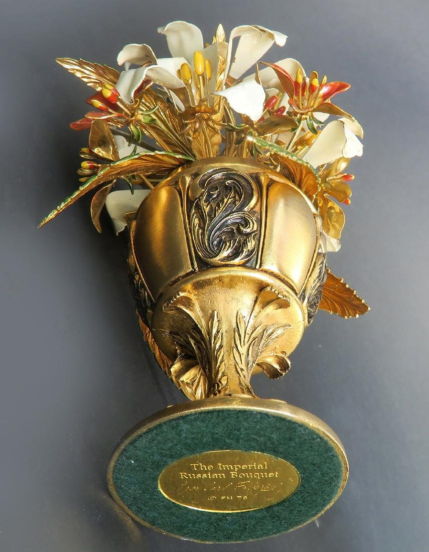 The Imperial Russian Bouquet Carl Faberge - 4