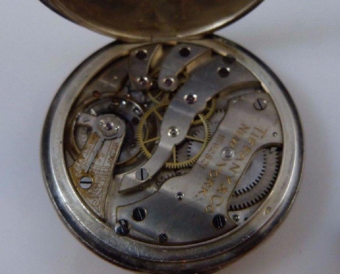 """Tiffany & Co"" Pocket Watch 935 Sterling Silver - 9"