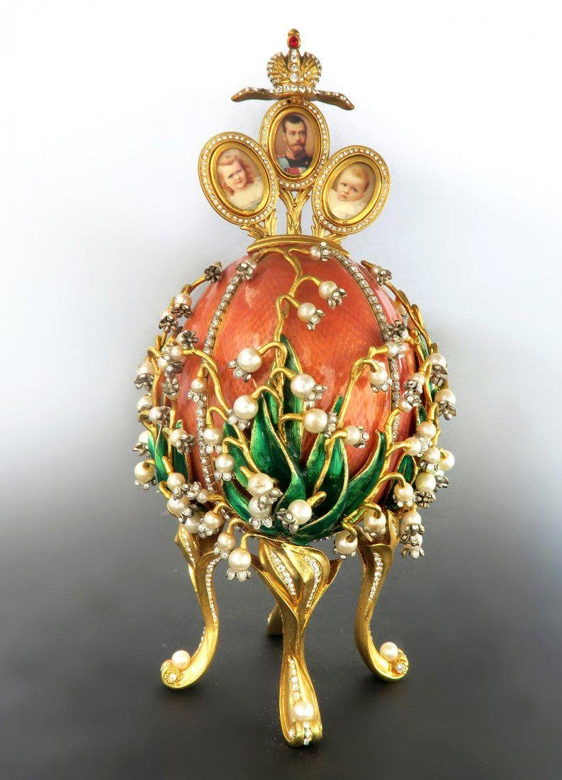Faberge Easter Egg Treasures of The Russian Tsars