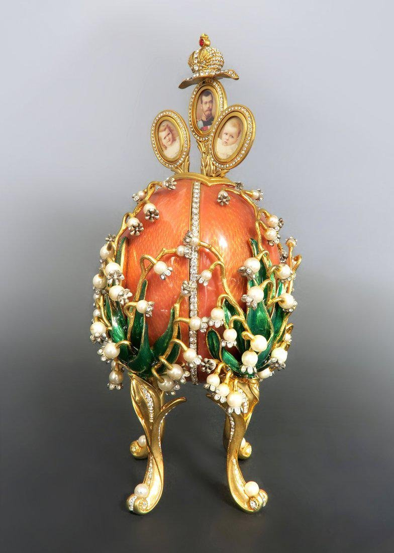 Faberge Easter Egg Treasures of The Russian Tsars - 2