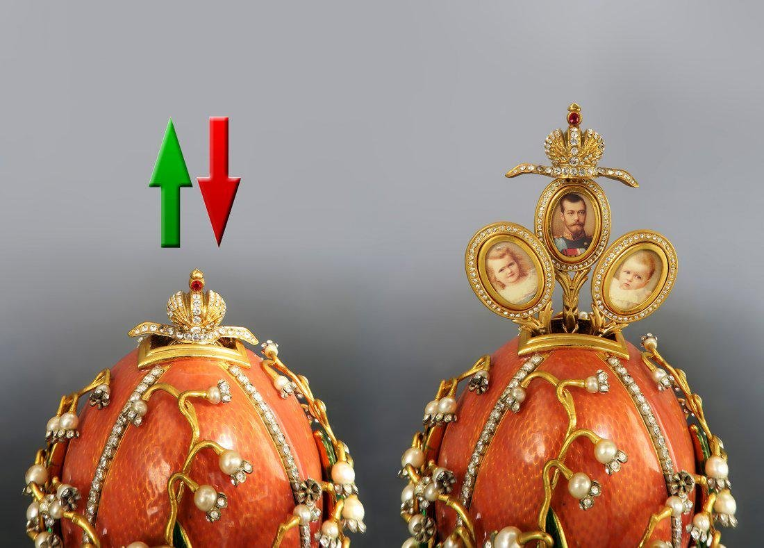 Faberge Easter Egg Treasures of The Russian Tsars - 3