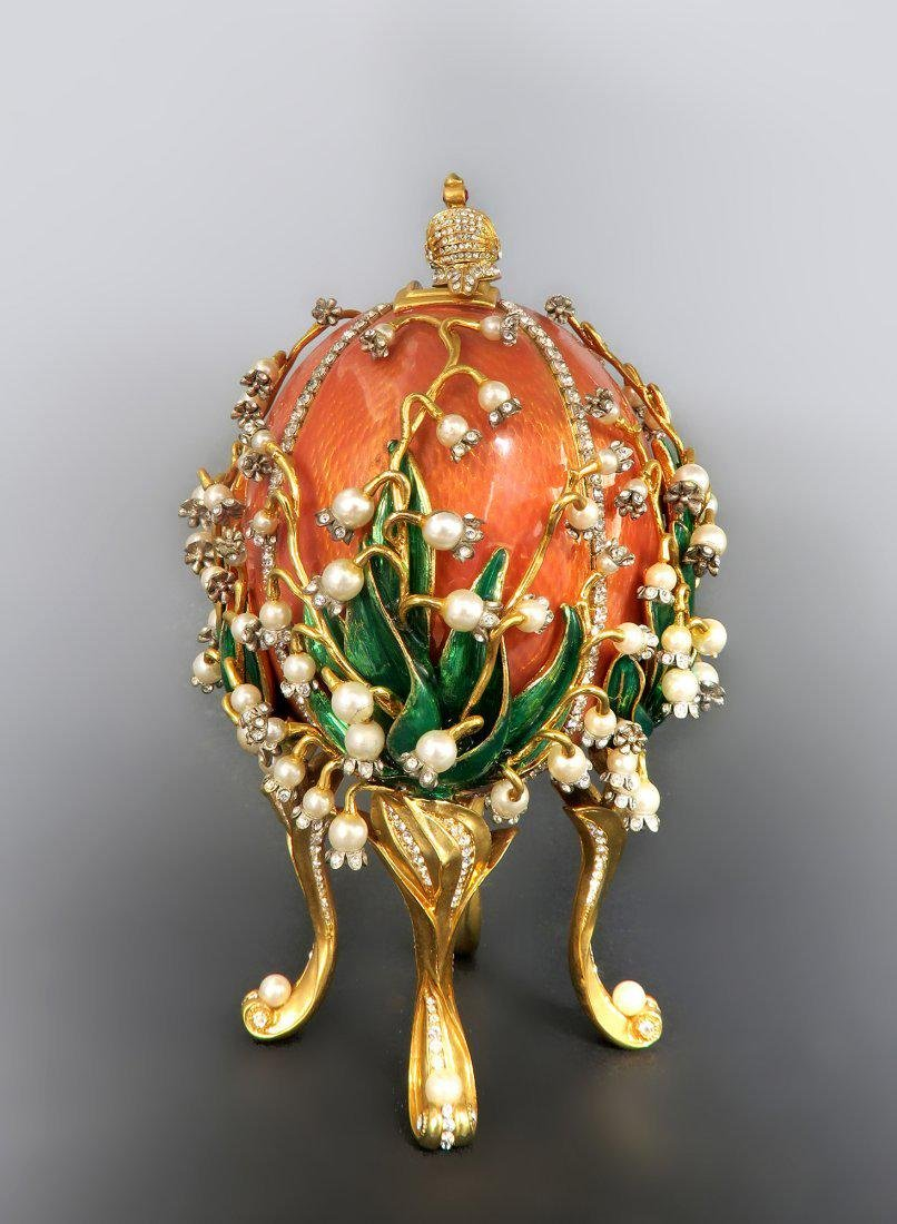 Faberge Easter Egg Treasures of The Russian Tsars - 4