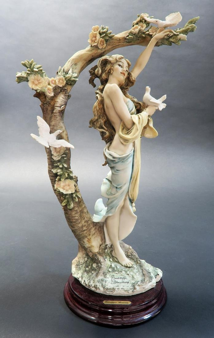 "Giuseppe Armani ""Young Lady With Doves"" Ltd Edition! - 2"