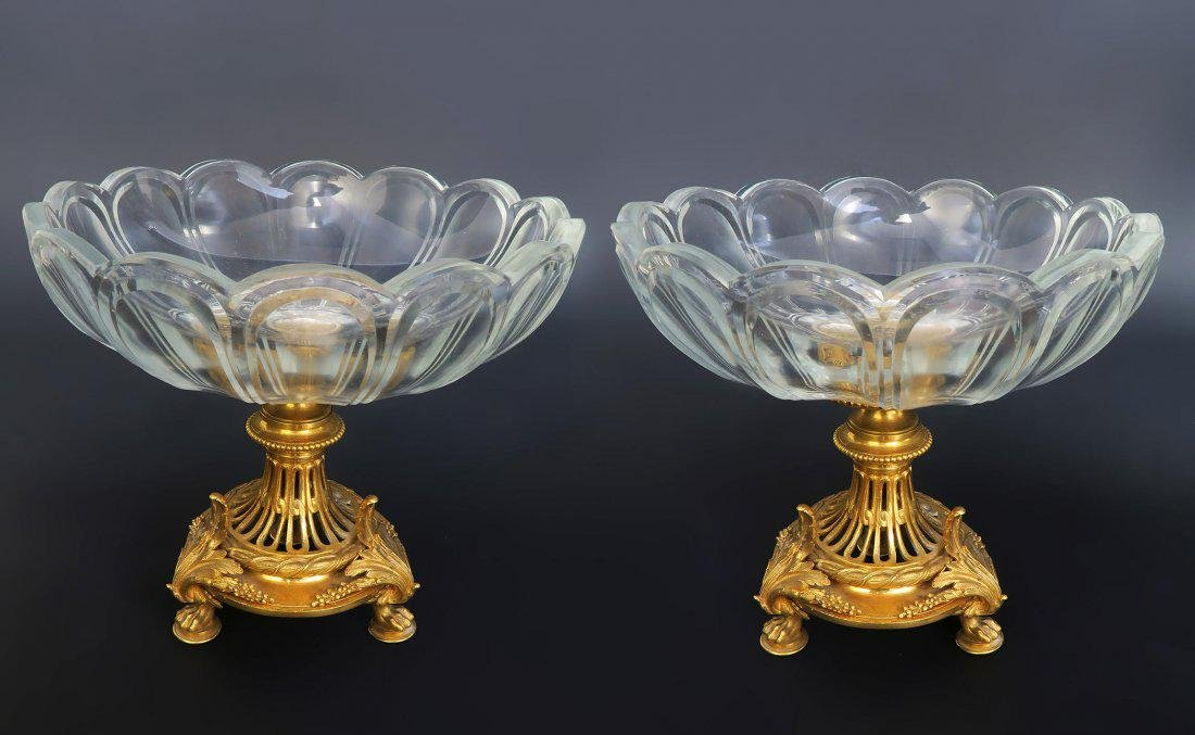 Pair of French 19th C. Christofle Tazza/Compotes - 2