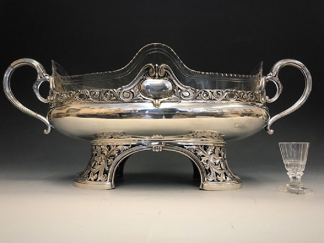 A Beautiful 800 Silver Centerpiece - 2