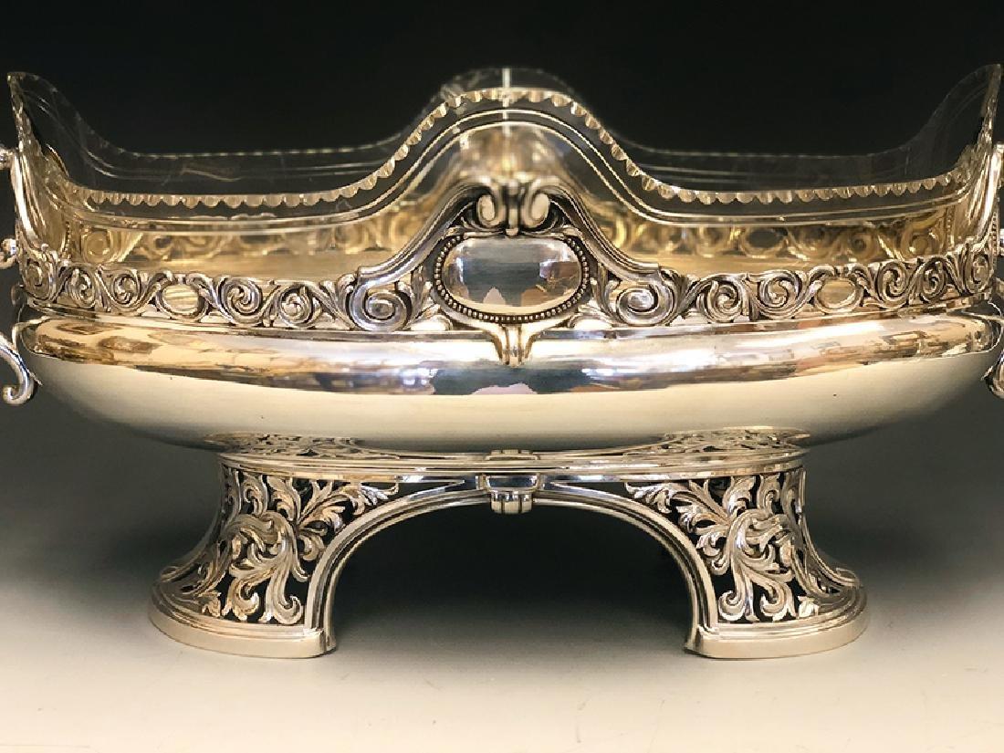 A Beautiful 800 Silver Centerpiece - 4