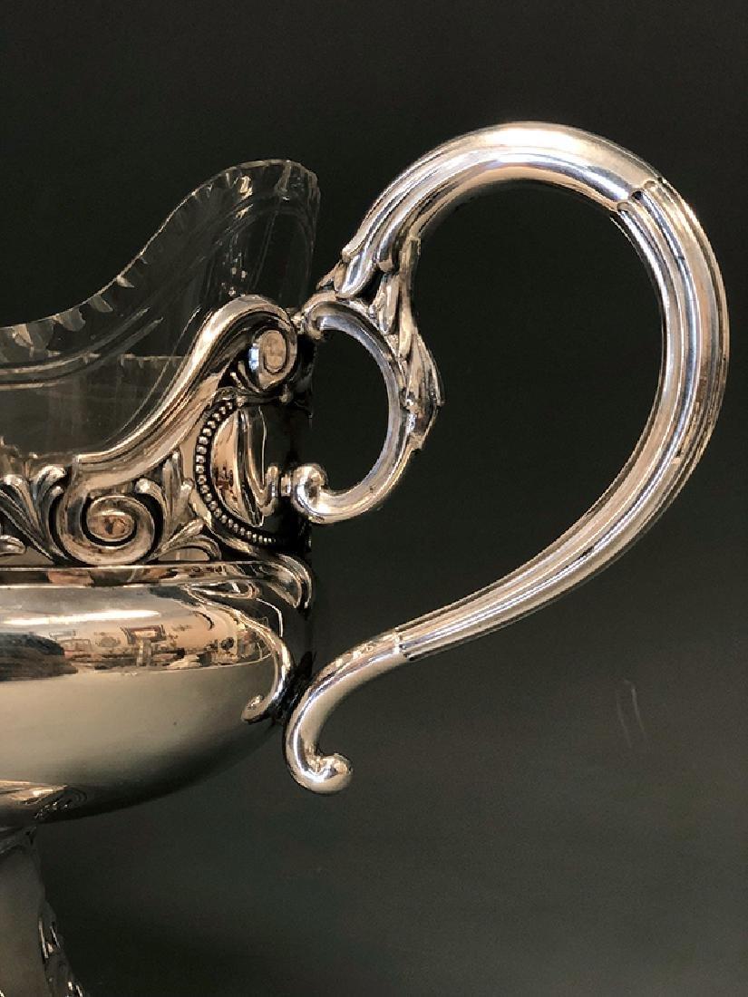 A Beautiful 800 Silver Centerpiece - 5