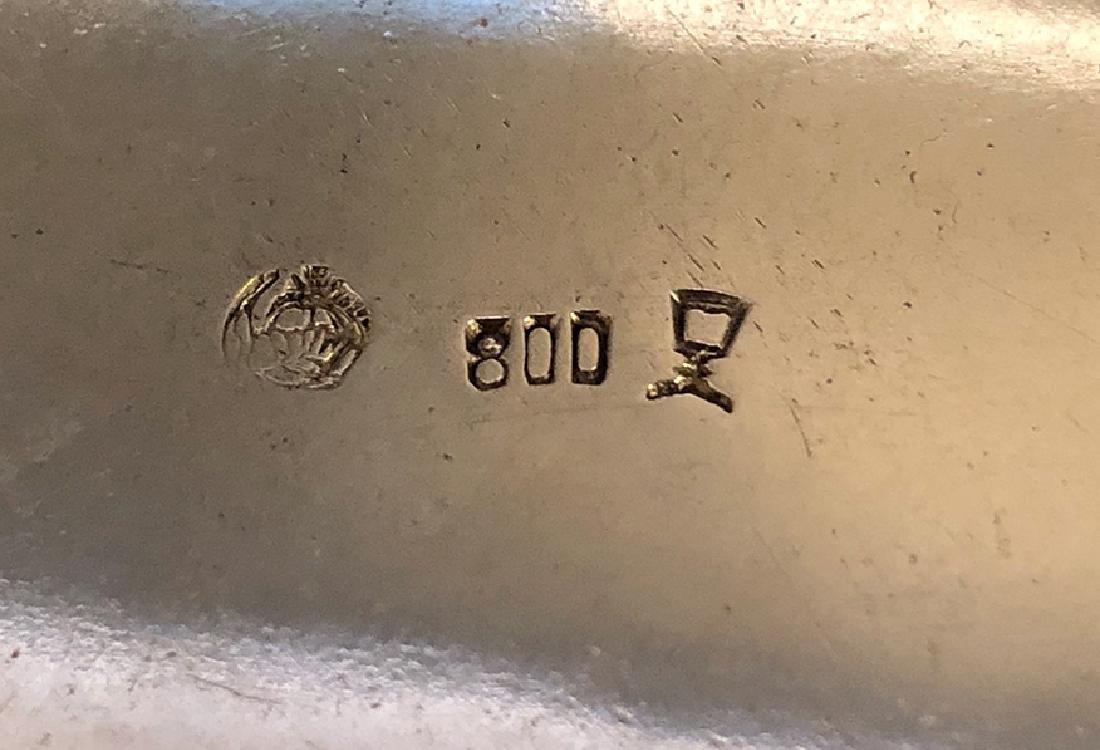 A Beautiful 800 Silver Centerpiece - 7