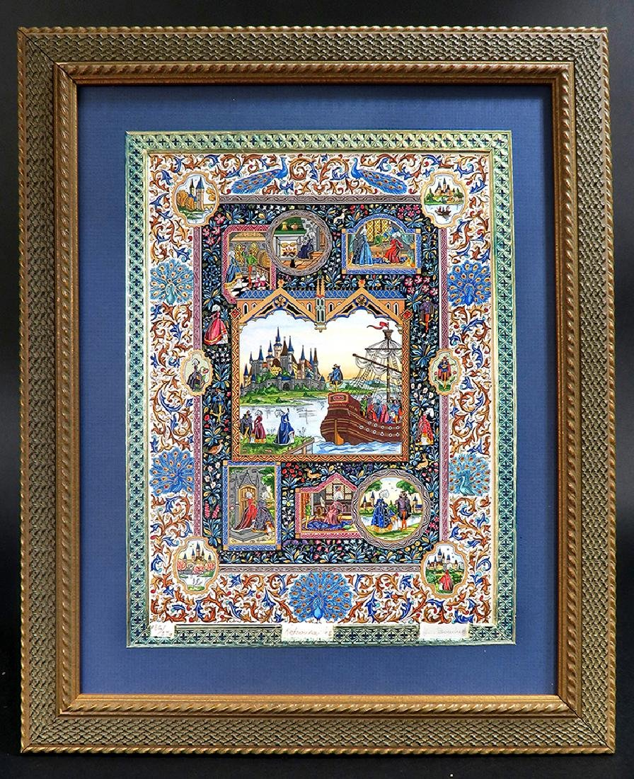 Lucien Boucher Limited Edition Art Print 186/270 Framed