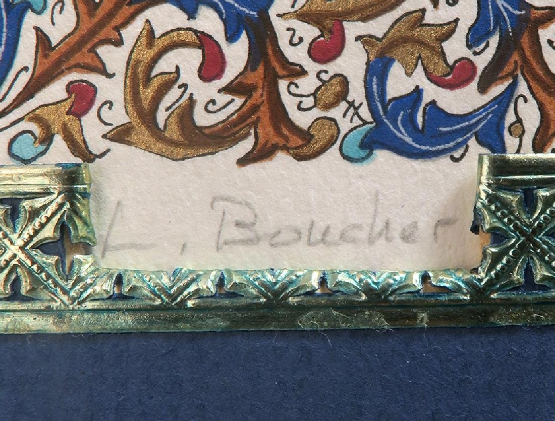 Lucien Boucher Limited Edition Art Print 186/270 Framed - 5