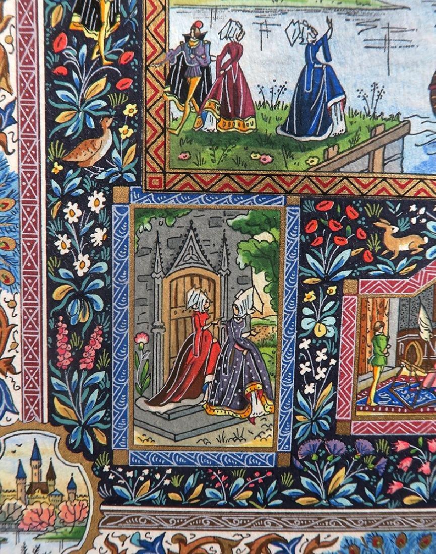 Lucien Boucher Limited Edition Art Print 186/270 Framed - 8