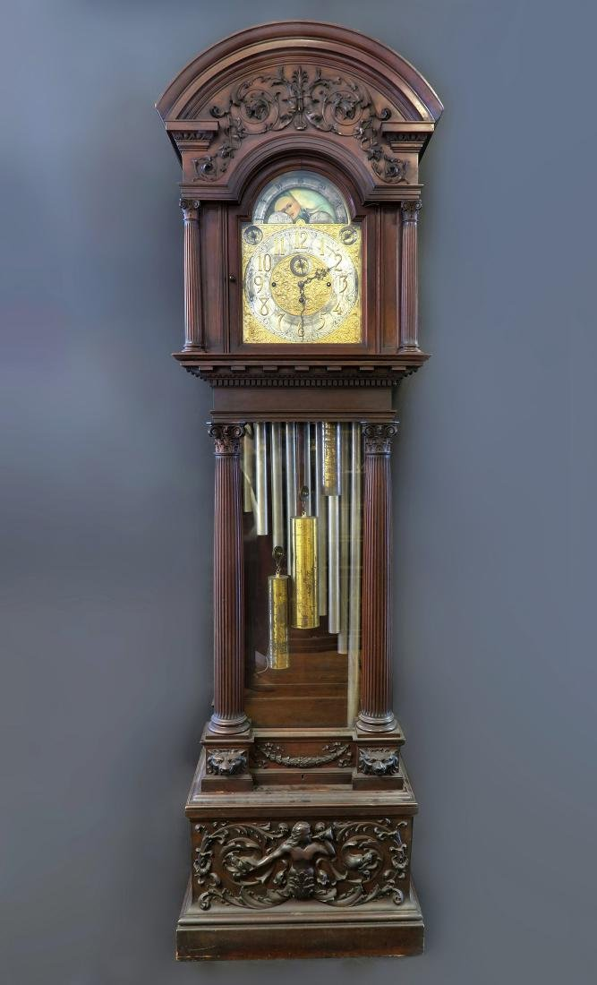 "Exceptional ""Tiffany & Co"" Grandfather Tall-Case Clock"
